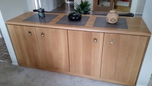 Jenkinson Family rift-sawn white oak buffet