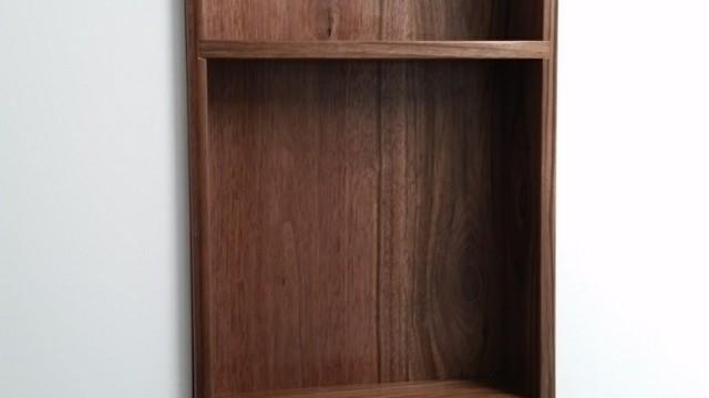 Niche walnut cabinet