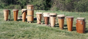 Group of Drums