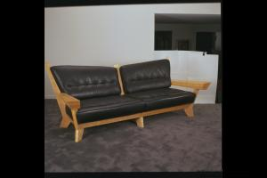 Front of couch