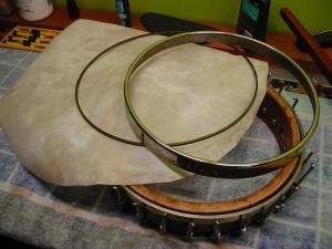 Components of banjo head