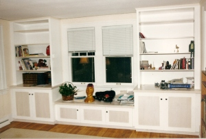 Poplar-Maple Built-Ins