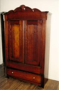 Cherry Wardrobe-after restoration