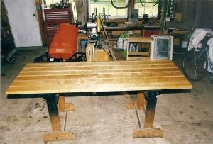 Birch/maple workbench top