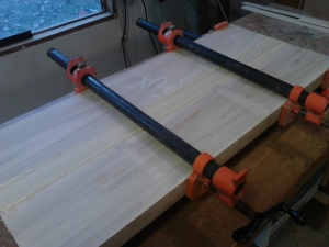 Glue up for width