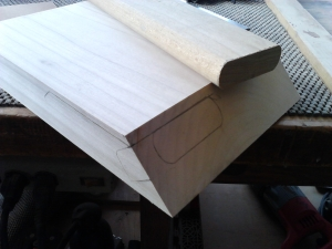 Layout for loose tenon joinery