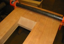 Building a work bench top