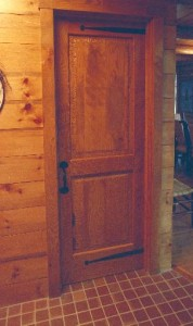 White Oak Door-built while working for Peter Beal Furniture