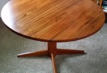 Making a teak table top