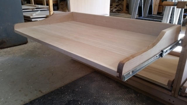 Building a rift sawn white oak buffet
